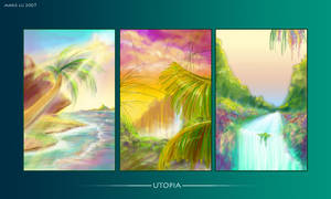 Three Thoughts of Utopia by mree