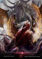 Magician of the Underworld by Mariana-Vieira