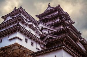 Himeji Castle by mib4art