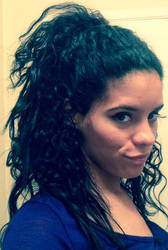 Big hair don't care by FireInAurora