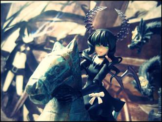 The horsewoman by Karinui