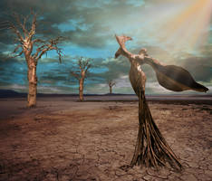 Queen of Trees by CaryAndFrankArts