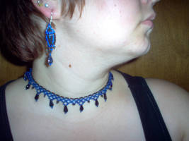 Necklace - Lacy Goldstone by turtlegirlman