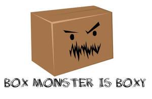 Box Monster by turtlegirlman