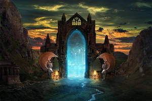 Portal of time by batkya