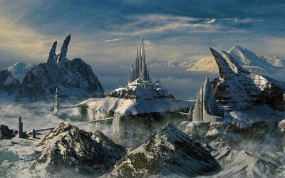 Snowy kingdome by batkya