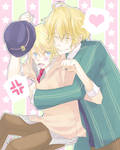 Uta no Prince Sama: Natsuki and Shou by akiaki-chan