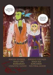 Hagan and Siriand by Hanabi-Drift