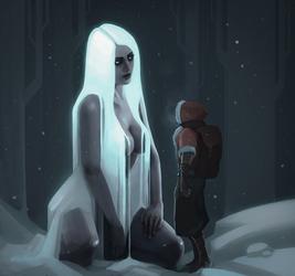 Frost Goddess by Nemca