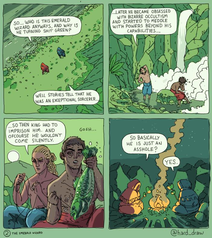 The Emerald Wizard 3 by Nemca
