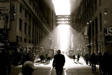 Morning in Manhattan by Pattege