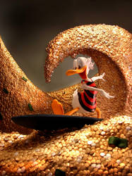 Scrooge McDuck by sculptwerks
