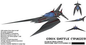 Grox Cruiser by The-Programmer