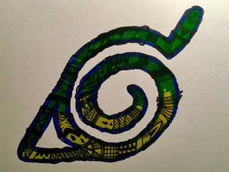 Leaf symbol by huntersmoon177