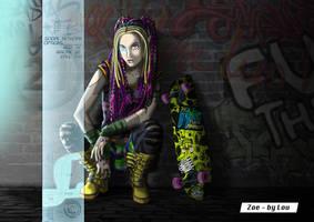 Zoe [Boston 2072] by L0u1sa