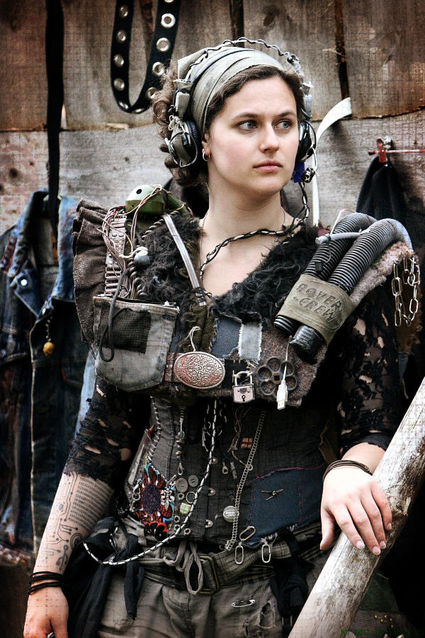 Ascii [costume] Wasteland LARP by L0u1sa