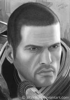 Mass Effect -Commander Shepard by altairezio