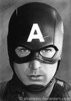 Chris Evans - Captain America by altairezio