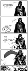 Vader's secret buttons by Elise-Lucy