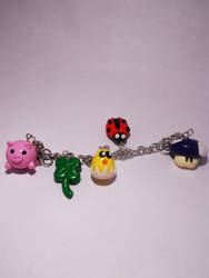 Bracelet with Random Charms :) by K3ShaneDawson