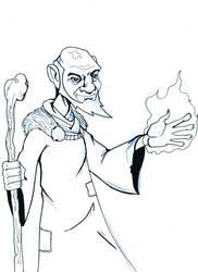 wizard warm up by IronFistGoon