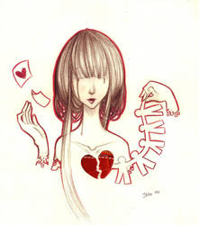 Paper Heart Request by 3lda
