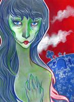 Zombie Girl by 3lda