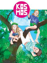 Without adults - KOSMOS gilrs magazine illustr by Moryah