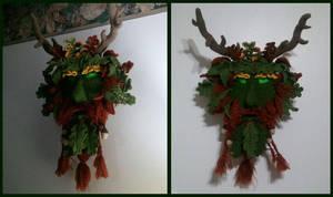 Green-Man by WRavenStorm