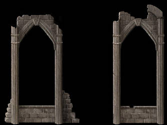 Webpage Element: Arches by merethien
