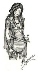 Sister of Nemia: Alyanna by merethien