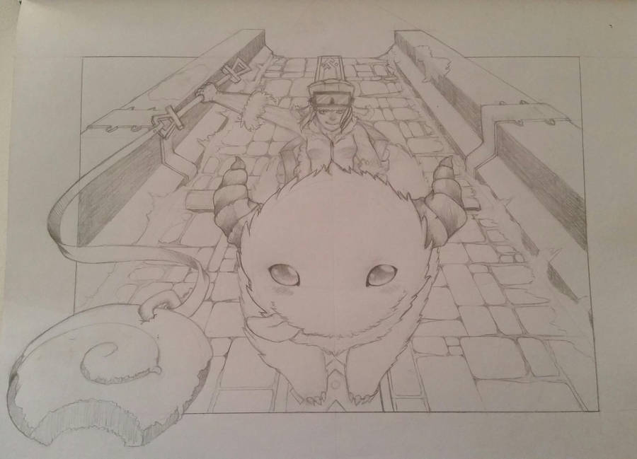 A Work In Progress Poro Rider Sejuani In Aram By Sleepingguru13 On