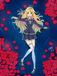 Dreaming: Rose (OC) by uke-sann