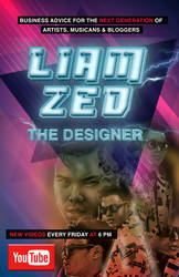 Liamzed The Designer Poster Youtube by LiamZedTheDesigner