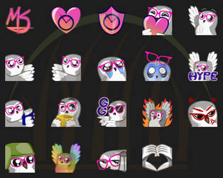Emoticons for MetricSeconds by UmbraQuies