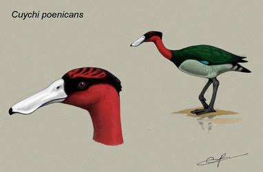 Flamingo ducks by electreel