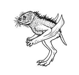 A Pterosaurian Chupacabra by electreel