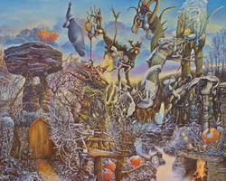 Riverbed Sanctum in November Frost by Tolkyes
