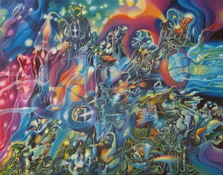 Luminous Energy Harvesters III by Tolkyes