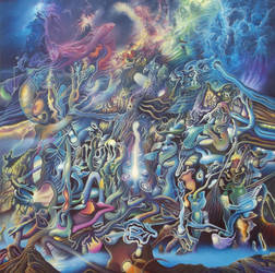 Birth of a Universe by Tolkyes