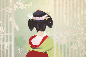 Spring 2.0 - young maiko by OlgaUlanova