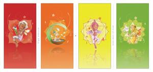 : chakra fairies : 1 by OlgaUlanova