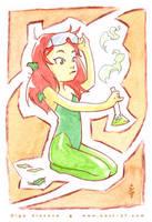 Professor Poison Ivy by OlgaUlanova