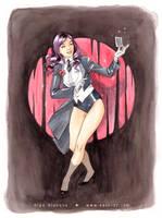 Zatanna magic by OlgaUlanova