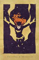Batgirl a la retro by OlgaUlanova