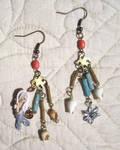 Selkie earrings by hodryronja