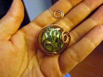 Dragon Embryo by hodryronja