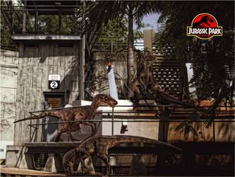 Jurassic Park - Velociraptor by tomzj1