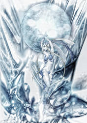 Final Fantasy VIII - Guardian Force - SHIVA by tomzj1