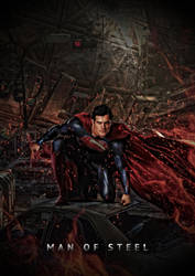 The Man Of Steel by tomzj1